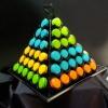 Pyramide de 84 macarons