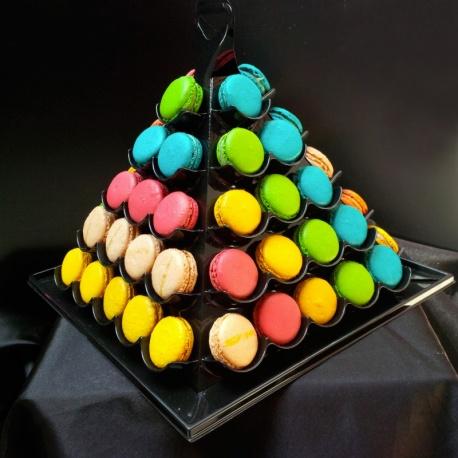 Pyramide de 60 macarons