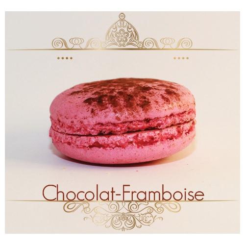 Macaron Chocolat/Framboise