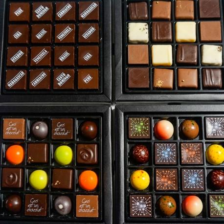 Chocolat DEREMIENS  - boite de 4 plateaux