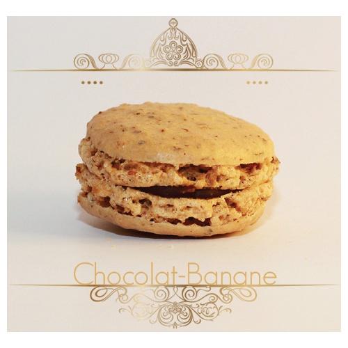 Macaron Chocolat Banane