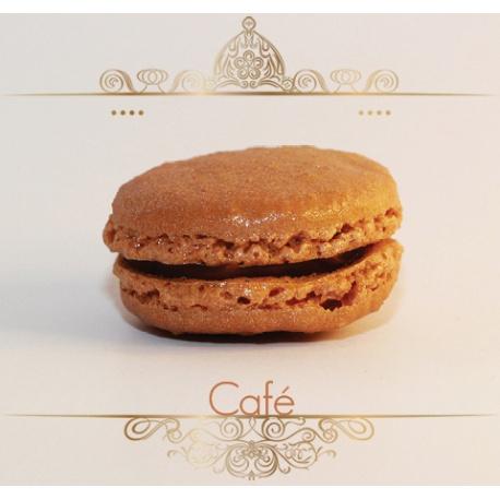Macaron Chocolat noir