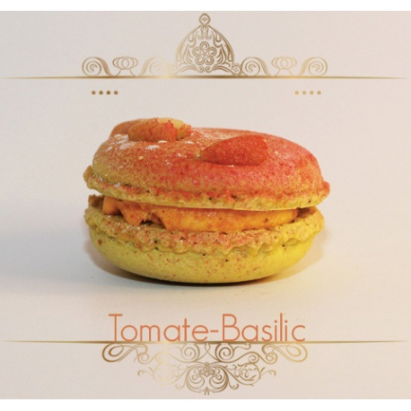 Macaron Tomate Basilic