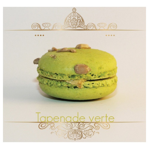 Macaron Tapenade verte