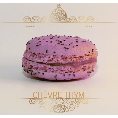Macaron Chèvre thym