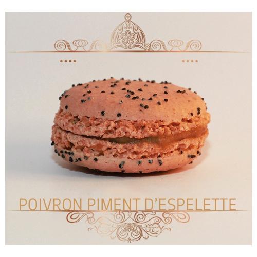 Macaron Poivron piment d'espelette